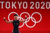 Olimpiade Tokyo Kejutan, Angkat Besi Sumbang Lagi Perunggu