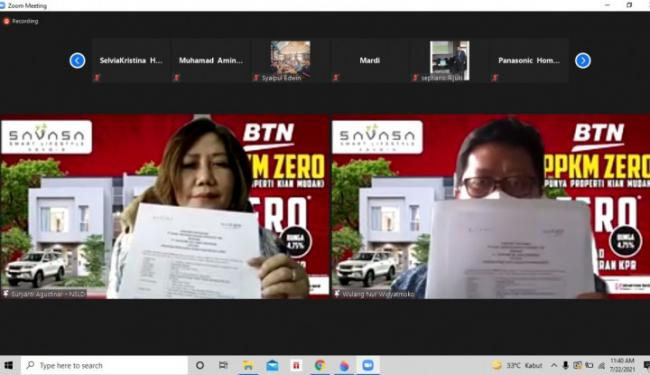 Kolaborasi BTN-Savasa Hadirkan KPR Zero, Bisa Libur Bayar KPR Loh – Warta Ekonomi Online