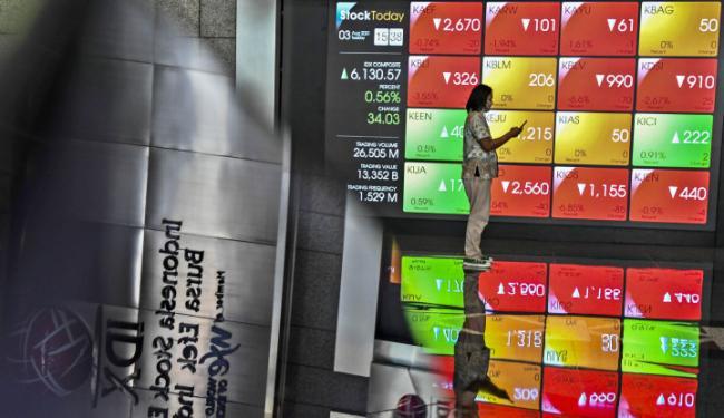 Setengah Triliun Rupiah Dana Asing Dibawa Lari, IHSG Akhirnya Gigit Jari – Warta Ekonomi Online
